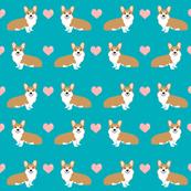 corgi love fabric cute valentines love corgis design best corgi fabrics