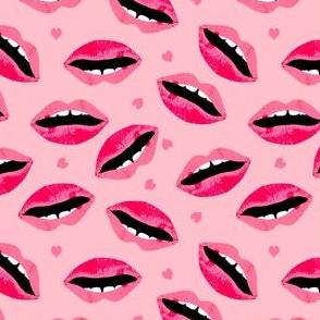 lipstick lips beauty makeup beauty valentines fabric