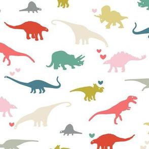 Dinosaur rainbow