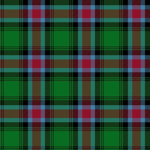 Georgia official tartan - bright