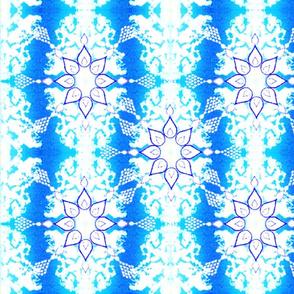Snowflake Patterns on the Window Pane