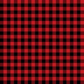 Red & Black Plaid
