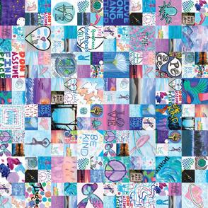 Project Peace Paper - Blue