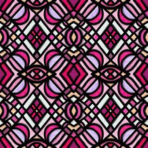 Stained Glass | Project 179 | Brights Pink