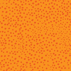 Orange Speckles