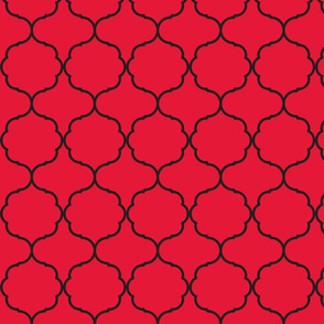 Hexafoil Red and Black
