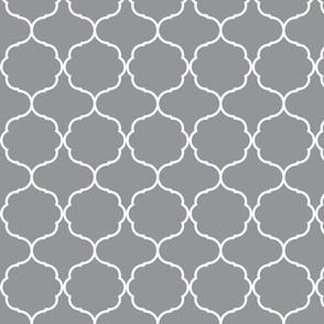 Hexafoil Grey and White