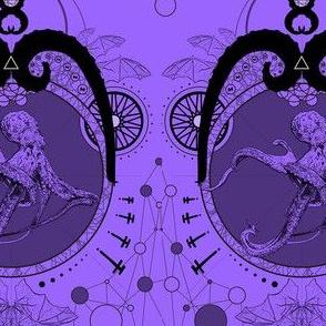 Lovecraftian Garden - Purple