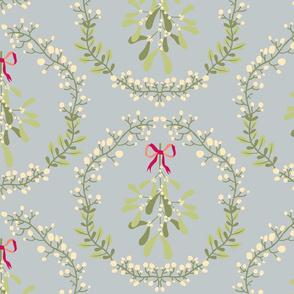 Mistletoe_wreath_fond_gris_L