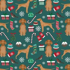 vizsla christmas dog design christmas dog fabric vizslas fabric dog design