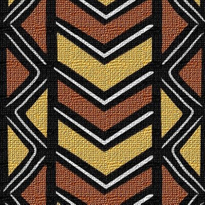 Mudcloth Inspired Diamonds and Chevrons