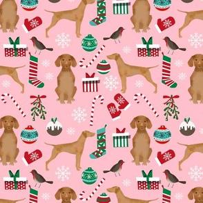 christmas dog design christmas dog fabric vizslas fabric dog design