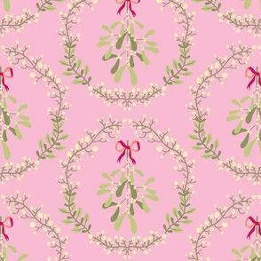 Mistletoe_wreath_fond_pink_M
