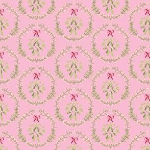 Mistletoe_wreath_fond_pink_S