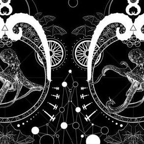 Lovecraftian Garden Black