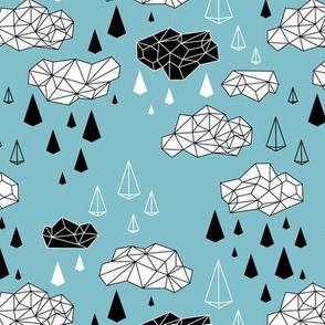 geometric rain