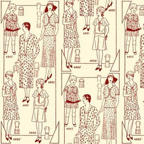 Fashion in   August 1930