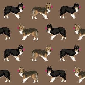 sheltie fabric rose sheltie shetland sheepdog fabric best love dog fabric cute shelties design