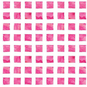 watercolor grid || bright pink