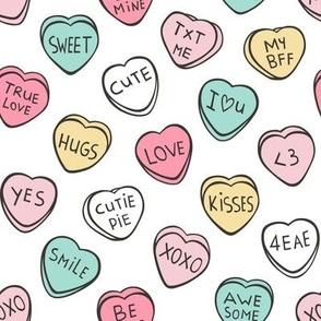 Conversation Candy Hearts Valentine Love