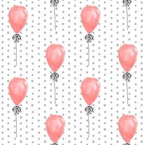 balloon watercolors baby nursery girls balloon fabrics