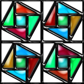 Pythagorean Stained Glass 2