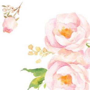 Sweet Watercolor Floral