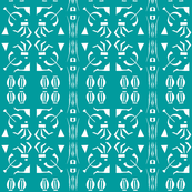 ISLAND ARCHERS  Turquoise