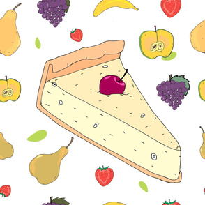 Fruit Pie Pattern