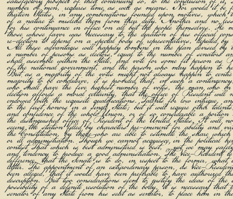 alexander hamiltons first federalist paper - alexander hamilton's first federalist paper alexander hamilton's first federalist paper endorses ratification of the proposed constitution his unifying point is that the use of reason—in the form of the people's reflection and choice—will lead to the truth, whereas their use of passion will lead to ruin.