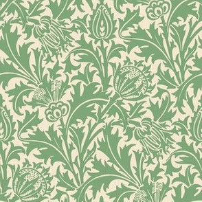 Thistle (Cream Green)