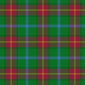 Manitoba Province official tartan - 3""