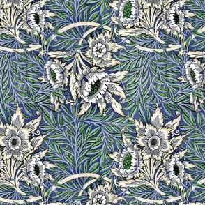 Morris Tulip Willow Blue