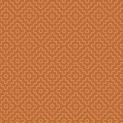 faux sashiko plus, gold on copper