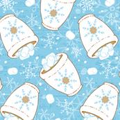 Snowing Marshmellows