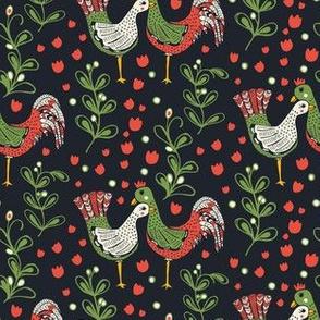 Mistletoe and Chickens