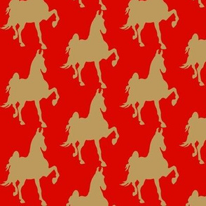 HOT TO TROT (Red- Khaki)