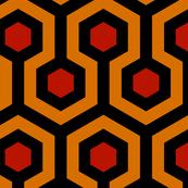 Shining Hallway Carpet Vivid