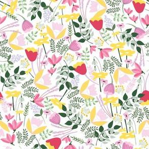 Wild Meadow floral - Spring - Medium