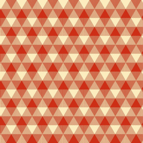 triangle apple gingham