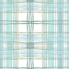 pastel plaid (mint)
