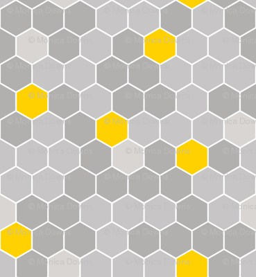 1366x768 grey honeycomb pattern - photo #35