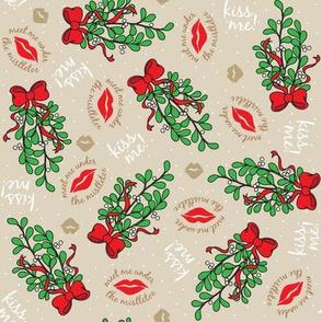 Ditsy Mistletoe Challenge