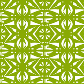 BELARUS PARTY PRINT Leaf Green