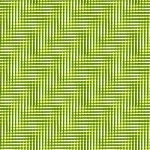 ferny green glitchy plaid