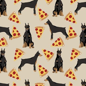doberman dog fabric doberman pinscher sand pizza fabric