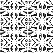 BELARUS PARTY PRINT Black and White
