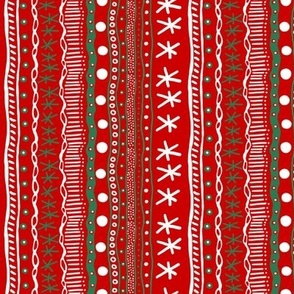 Christmas Howdy: Variety Stripe