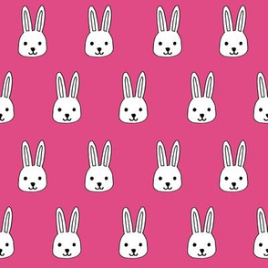 white rabbits // pink rabbits fabric best bunny rabbit design rabbits fabric easter