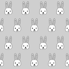 white rabbits // grey rabbit collection cute rabbits fabric best white rabbits easter fabric cute bunnies
